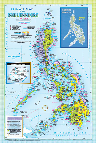Hydn publishing maps and charts climate map of the philippines gumiabroncs Images