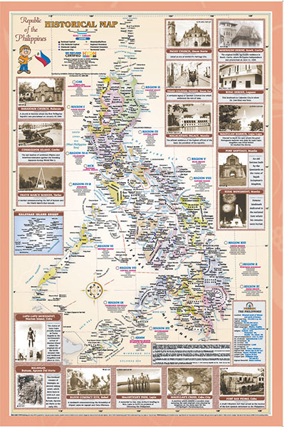 Hydn publishing maps and charts historical map of the philippines gumiabroncs Images