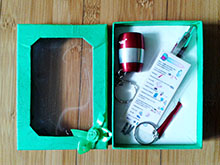 Gift Set with Survival Tips Bookmark